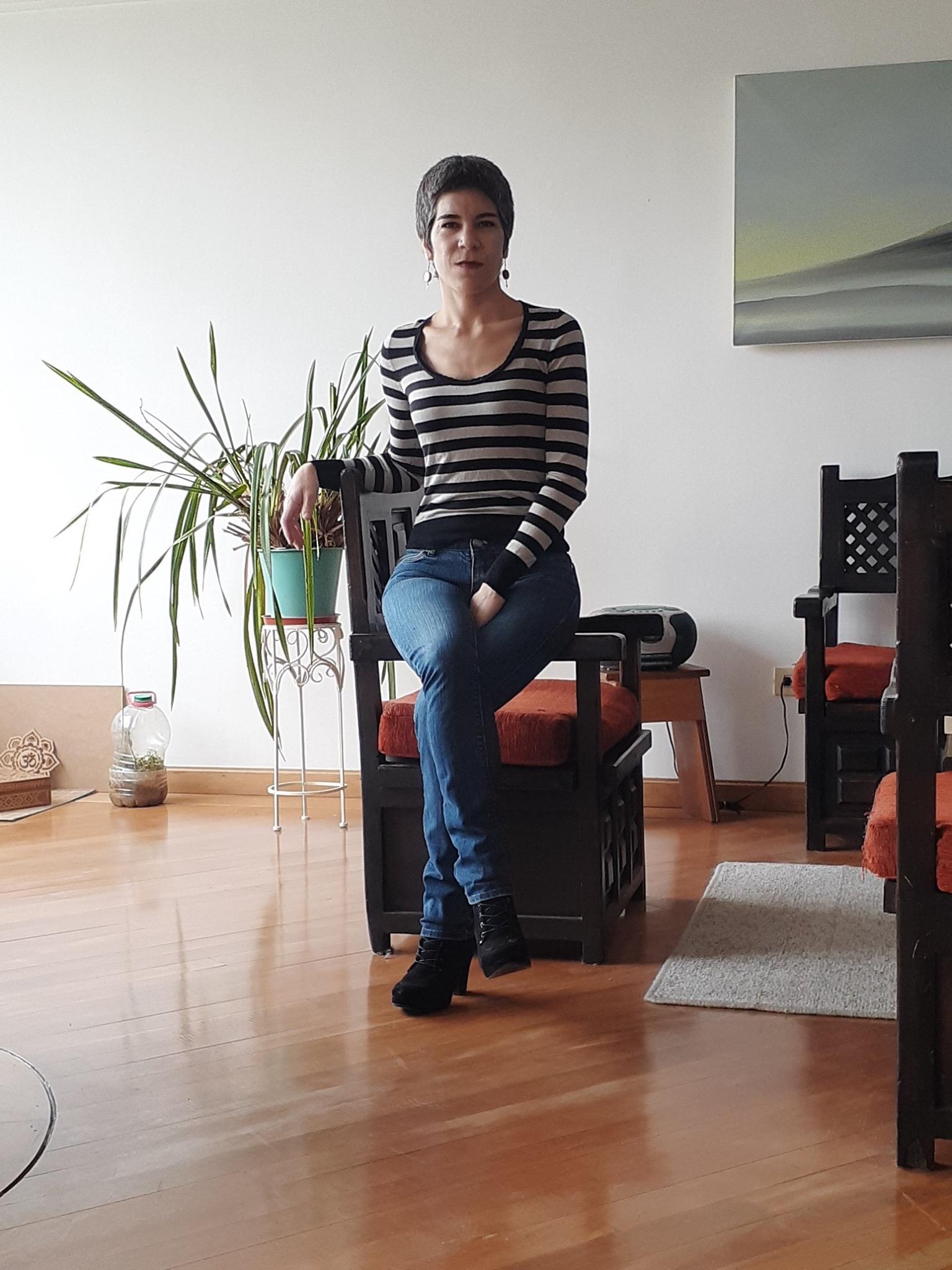 Carolina Iribarnegaray, terapeuta y tarotista profesional